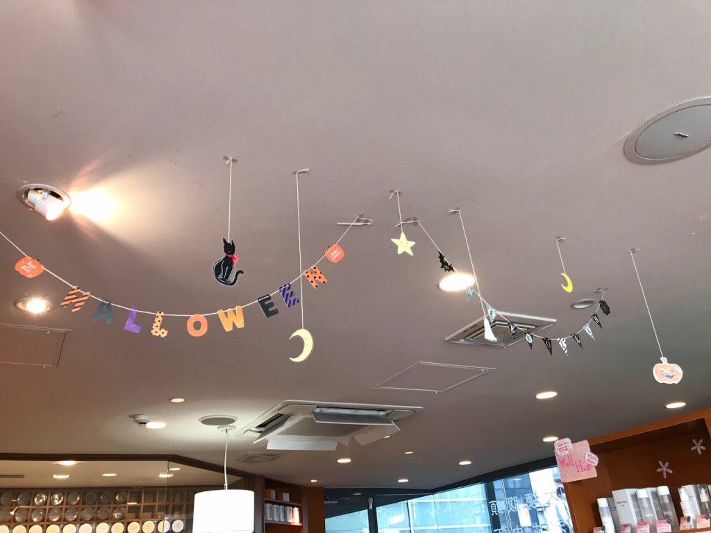 渋谷店にハロウィンがやってきた!