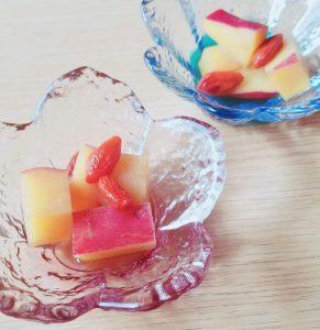 からだ潤う!簡単薬膳レシピ|クコとさつま芋のハチミツ煮