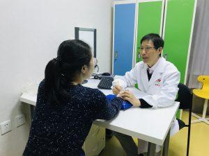 中医院での診療