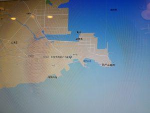 ひょうたん島の位置拡大